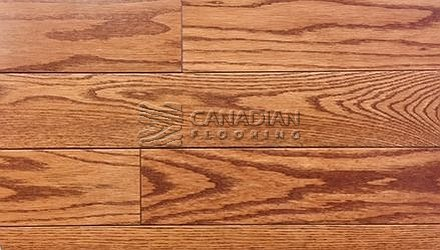 "Solid Hardwood Flooring, <br>Red Oak,  Panache, 4-1/4""<br>Color: Amaretto"