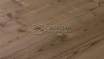 "Solid Hardwood Flooring, <br>Ash,  Panache, <br>3-1/4"" x 3/4""<br>Color: Gunstock"