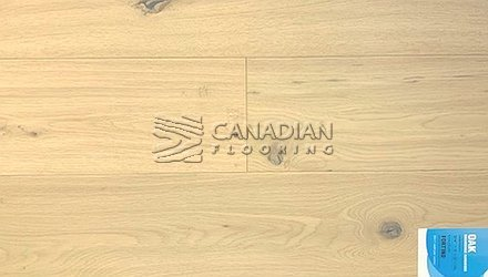 "Engineered White Oak <br>Canfloor, Hand-Scraped<br>6.5"" x 3/4""<br>Color:  Fortino"