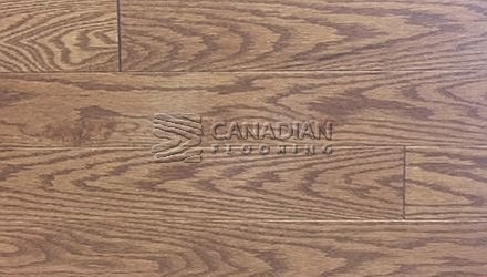 "Solid Red Oak<br> Husky Flooring<br>4-1/4"", Prestige<br>Color: Classic"