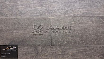 "Engineered Maple FlooringNestwood, 6.0"" x 9/16""Brushed FinishColor: Georgetown Grey Maple ENGINEERED FLOORING"
