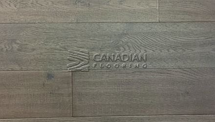 "Engineered White Oak,  Brand Surfaces, 6.0"" x 1/2"", <br>Color: Eclectic Grey"