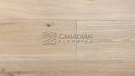 "Engineered European Oak<br>Canfloor, 7.5"" x 3/4""<br>Character Grade<br> Color: White Oil"