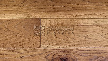 "Engineered Hickory<br> Superior Enhanced <br>7.0"" x 3/4""<br>Wire-Brushed Finish<br> Color: Wheat"