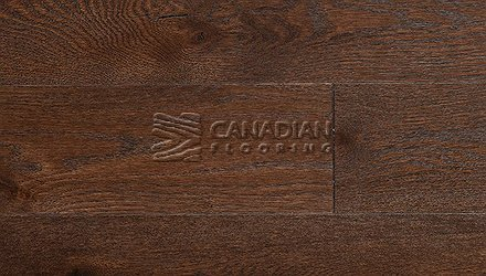 "Engineered Hickory<br> Superior Enhanced <br>7.0"" x 3/4""<br> Wire-Brushed Finish<br>Color: Kahlua"