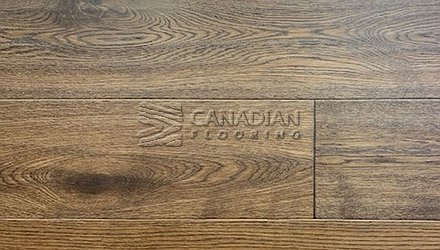 "Engineered White Oak <br>Canfloor, Hand-Scraped<br>6.5"" x 3/4""<br>Color:  Sandy Brown"