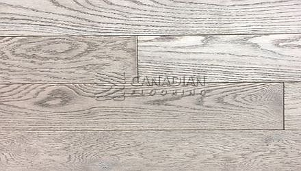 "Engineered, Red Oak<br> Husky Flooring<br> International Collection<br> 5-0"" x 5/8"", Brushed<br> Color:  Belize"