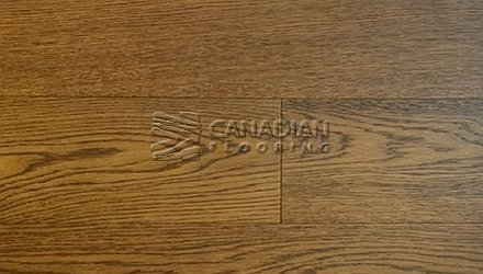 "White Oak, Canfloor, 6.5"" x 3/4"", Wire-Brushed Finish<br>Color:   Honey"