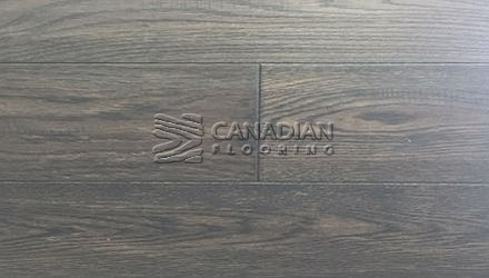 "Engineered White Oak <br>Canfloor, Hand-Scraped<br>6-1/3"" x 3/4""<br> Color:  City Grey"