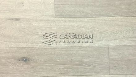"Engineered White Oak,  Brand Surfaces, 6.0"" x 1/2"", Color:  Offshore Grey ENGINEERED FLOORING"