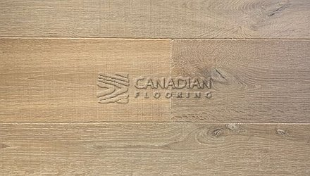 "White Oak, Grandeur, 7.5"" x 3/4"", Crown Land Collection<br> Color:  Northern Castle"