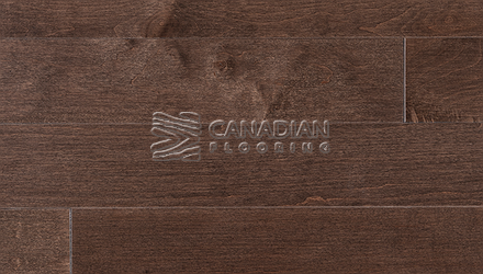 "Engineered Hard Maple Superior Enhanced 5.0"" x 3/4"" Smooth Matte FinishColor: Cocoa ENGINEERED FLOORING"