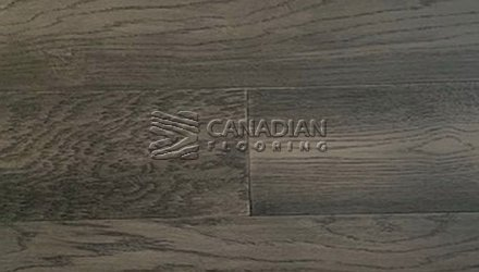 "White Oak, Canfloor, 6.5"" x 3/4"", Wire-Brushed FinishColor:   Cascade Engineered flooring"