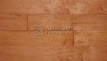"Solid Hardwood Flooring, <br>Hard Maple, Panache, <br>3-1/4"" x 3/4"" <br>Color: Auburn"