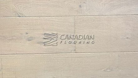 "White Oak, Grandeur, 7.5"" x 3/4"", Crown Land Collection Color:  Winter Fell Engineered flooring"