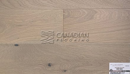 "Engineered White Oak,<br>Fuzion Outer Banks, <br>Click Collection<br> 5-7/8"" x 9/16"", <br>Color:  Foggy Oasis"