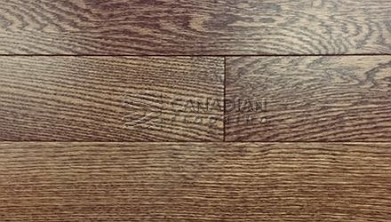 "Solid Hardwood Flooring, <br>Red Oak,  Panache, 4-1/4""<br>Color:  Hazelnut"
