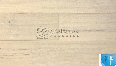 "Engineered White Oak <br>Canfloor, Hand-Scraped<br>6.5"" x 3/4""<br>Color:  Day Break"