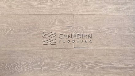 "European Oak, Canfloor, 7.5"" x 3/4"", Brushed & Oiled Color: Lime Wash Engineered flooring"
