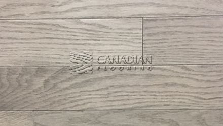 "Red Oak, Husky, 5-0"" x 3/4"" (4.0 mm),  Color: Titanium ENGINEERED FLOORING"