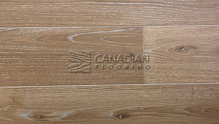 "Engineered European Oak<br>Canfloor, 7.5"" x 3/4""<br>Character Grade<br> Color: Desert"