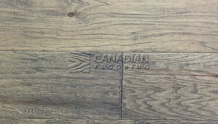 "Engineered Hickory, Ambiance <br> 6.5"" x 1/2""<br>Color: Seaside Grey"