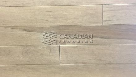 "Solid Hard Maple<br> Husky Flooring<br>, 4-0"",  Prestige<br>Color:  Linen"