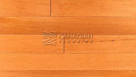 "Solid Hardwood Flooring, Hard Maple, Panache, 4-1/4"" x 3/4"", <br>Color: Cinnamon"