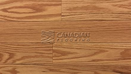 "Solid Hardwood Flooring, <br>Red Oak,  Panache, 4-1/4""<br>Color: Honey"