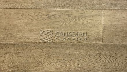 "Engineered White Oak, CANFLOOR, Loft Collection, 7-1/2"" x 3/4""<br> Color: Grey Manor"