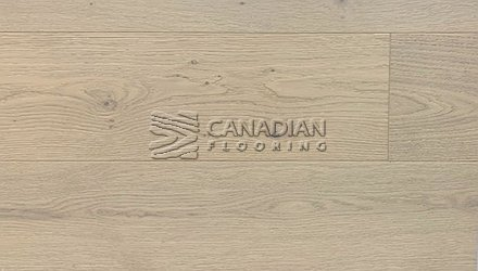 "Engineered White Oak, CANFLOOR, Loft Collection, 7-1/2"" x 3/4""<br> Color: Off White"