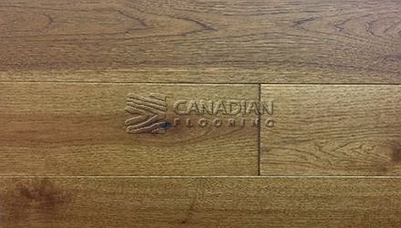 "Engineered Hickory, <br>Brand Surfaces <br> 6-1/2"" x 3/8"", Click <br>Color:  Oregon Coast"