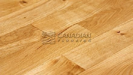 "Solid Red Oak, 3-1/4""<br>  Husky, Prestige<br>Color: Natural"