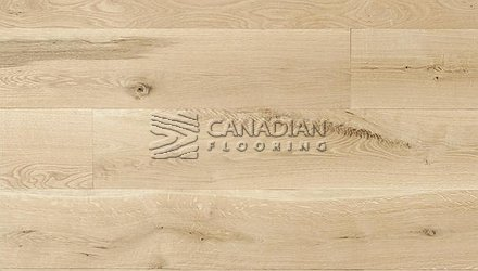"Engineered FlooringWhite Oak Unfinished5.0"" x 3/4"", Character4.0 mm wear layer ENGINEERED FLOORING"