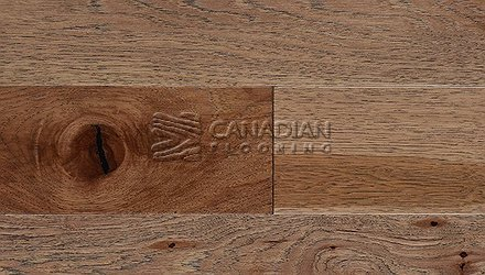 "Engineered Hickory<br> Superior Enhanced <br>7.0"" x 3/4""<br> Wire-Brushed Finish<br>Color: Safari"