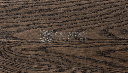 "Solid Red Oak, Superior Flooring, 3-1/4"", Bushed<br>Color:  Timberwolf"