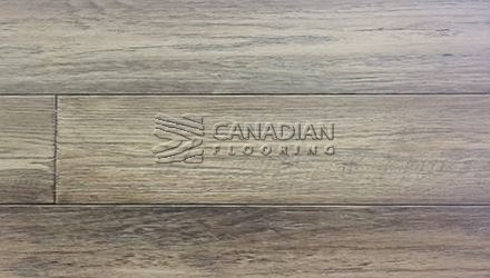 "Engineered White Oak Canfloor, Hand-Scraped6-1/3"" x 3/4""Color:  Smoked Parchment ENGINEERED FLOORING"