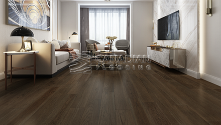 "Engineered Hickory, Biyork, 6-1/2"" x 3/4""<br> Color:   Summer Tree"