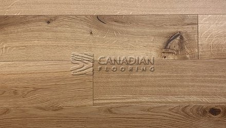 "European Oak, Canfloor, 7.5"" x 3/4"", Character Grade Color Natural Engineered flooring"