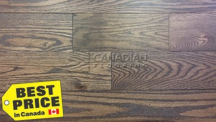"Solid Red Oak Flooring, CANFLOOR, 4-1/4"" x 3/4"", Color: Satin825 sq.ft. lot HARDWOOD FLOORING"