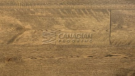 "Engineered White Oak, CANFLOOR, Loft Collection, 7-1/2"" x 3/4""<br> Color: Driftwood"