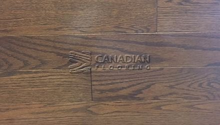 "Solid Red Oak, 3-1/4"", Husky, PrestigeColor:   Brule Hardwood flooring"