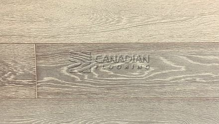 "Engineered White Oak Fuzion Outer Banks, Elite Collection  5-7/8"" x 3/4""  Color:  Point Grey ENGINEERED FLOORING"