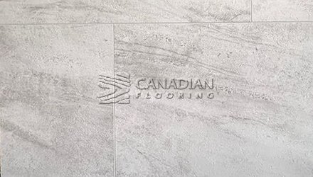 Luxury Vinyl Flooring <br>Aqua Tiles<br> NAF, 5.0 mm, <br>Color: Limestone