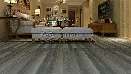 Luxury Vinyl Flooring, Aqua Plus, NAF, 5.0 mm, Color:  Dorchester