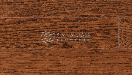 "Red Oak, Superior Flooring,  5-3/16"" x 3/4"", Brushed Finish, <br> Color:   Preline"