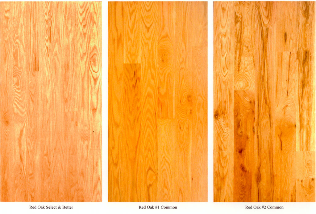 Flooring Grade Specifications